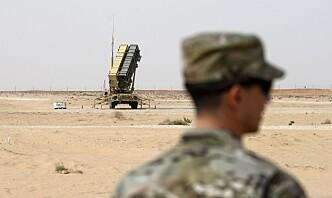 Norske soldater i Irak får beskyttelse mot missilangrep