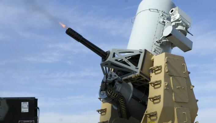 C-RAM skal skyte ned prosjektiler av mindre kaliber og skal beskytte Patriot-systemene.