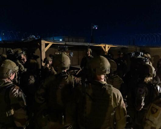 Fulgte opp soldater i Irak etter rakettangrep