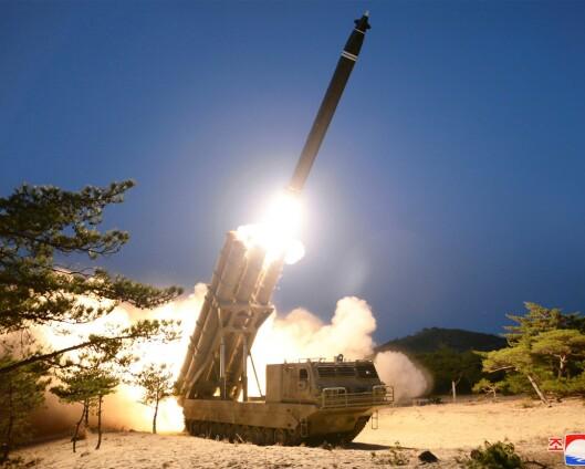 Sør-Korea: Nord-Korea har avfyrt raketter