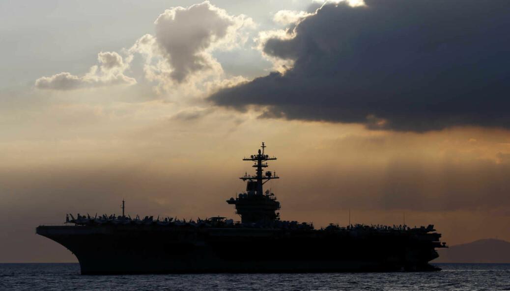 Nærmere 600 av mannskapet om bord på USS Theodore Roosevelt har testet positivt for koronasmitte.