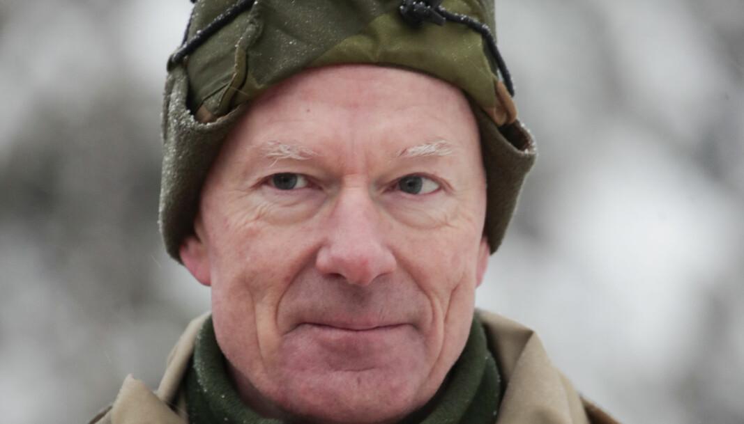 Forsvarssjef, admiral Haakon Bruun-Hanssen.