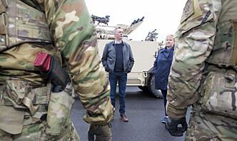 Forsvarsdepartementet legger fram ny veteranmelding