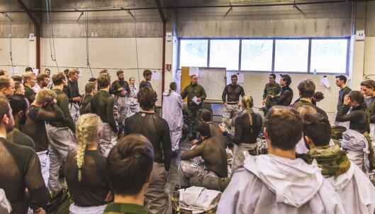 Over 1000 nye rekrutter - Forsvaret tester alle for korona