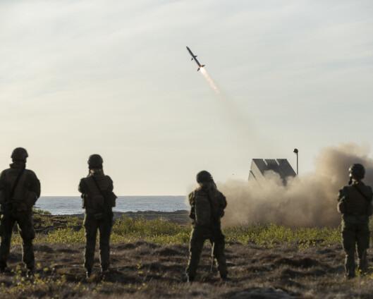 – Forsvarsindustrien er en drivkraft i norsk teknologiutvikling