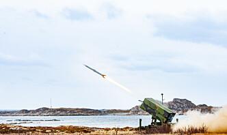 Norsk missilforsvar kan koste 20 milliarder