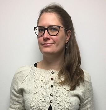 Stina Hassel er leder for NTL Forsvaret