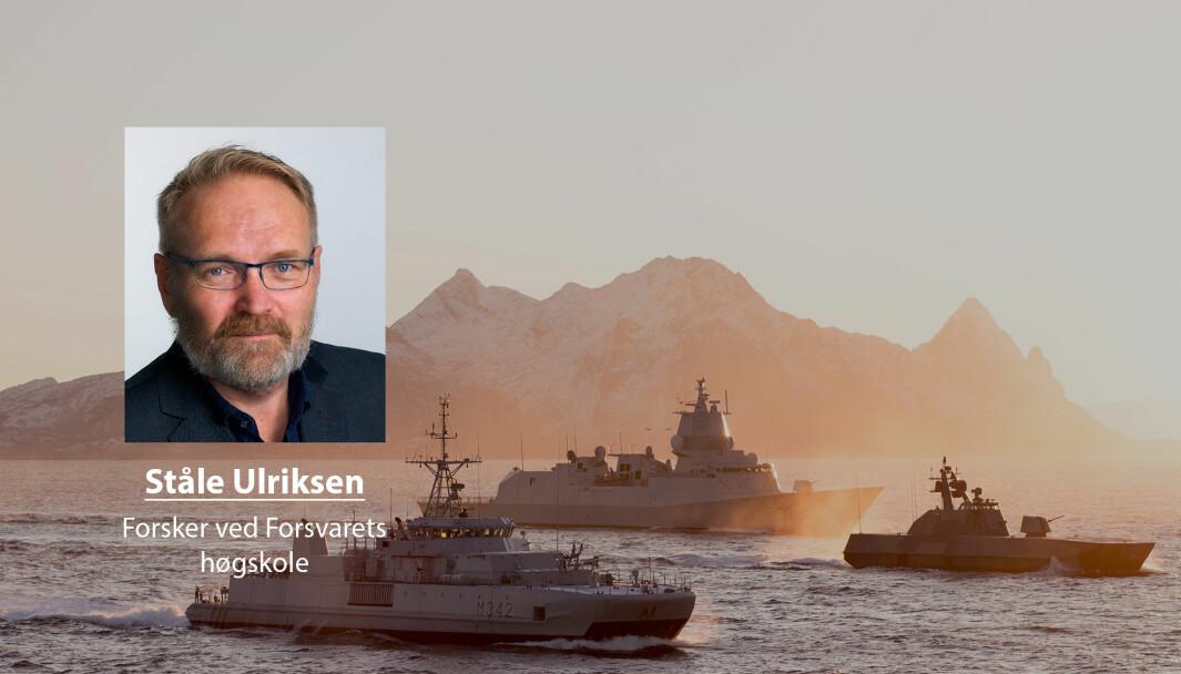 Flere av Sjøforsvarets fartøy vil være utilgjengelig på grunn av oppgraderinger og vedlikehold det neste tiåret, skriver Ståle Ulriksen. Dette bilde er fra øvelse Flotex i 2017.