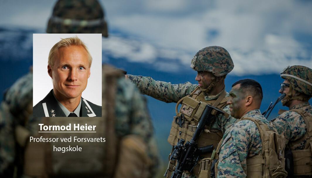 Langtidsplanen legger opp til videre stormaktsrivalisering i våre nærområder, skriver professor ved Forsvarets høgskole, Tormod Heier. Her ser vi amerikanske soldater under øvelse «Thunder Reindeer» i 2019.