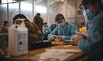 Flere rekrutter og ansatte ved KNM Harald Haarfagre i isolasjon