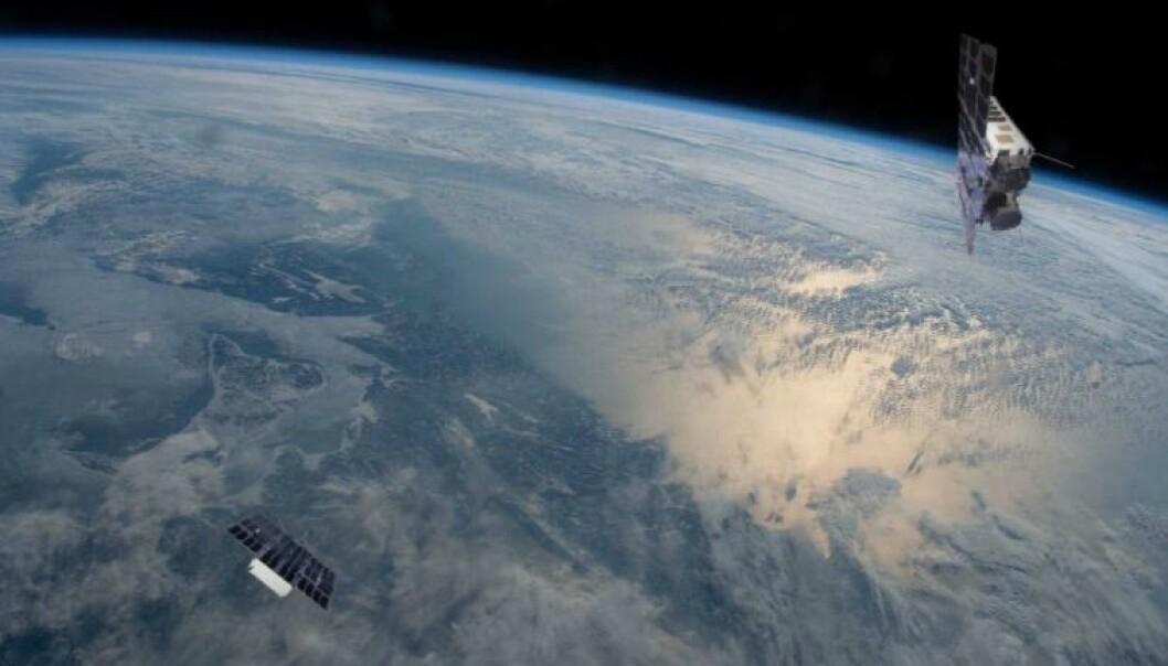 Satellittene Birkeland og Huygens veier inntil 10 kilo hver og har et volum på bare 6 liter.