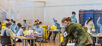 99,8 prosent av over 1.200 rekrutter ved Madlaleiren testet negativt for korona
