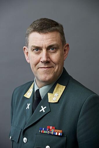 Generalmajor Henning-A. Frantzen, sjef og rektor ved Forsvarets høgskole.