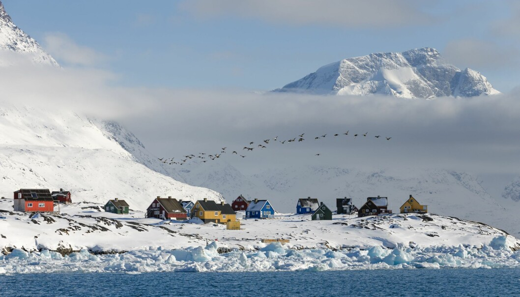 Greenland, Nuuk Fjord