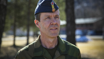 Sjef for Cyberforsvaret, generalmajor Inge Kampenes.