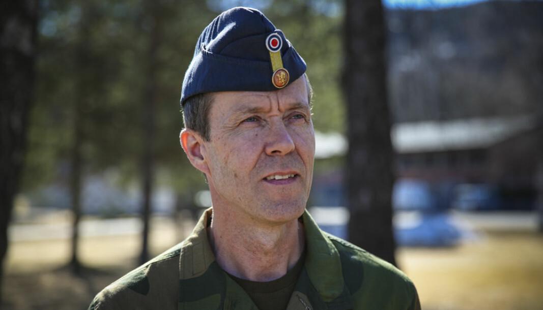 Sjef for Cyberforsvaret generalmajor Inge Kampenes.