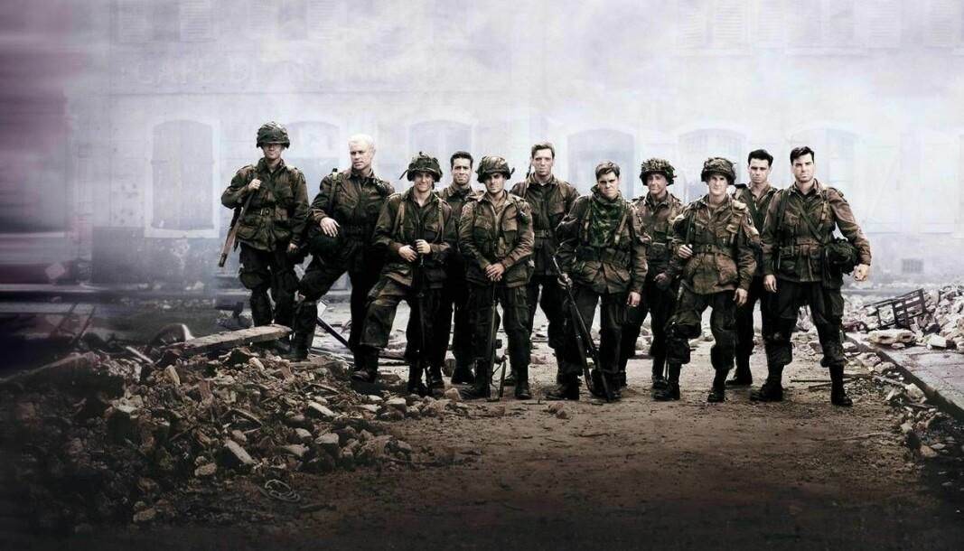 Band of Brothers er en av seriene som er verdt et gjensyn, mener sersjantmajor Rune Wenneberg.