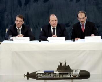 Forhandlingene om nye ubåter har startet