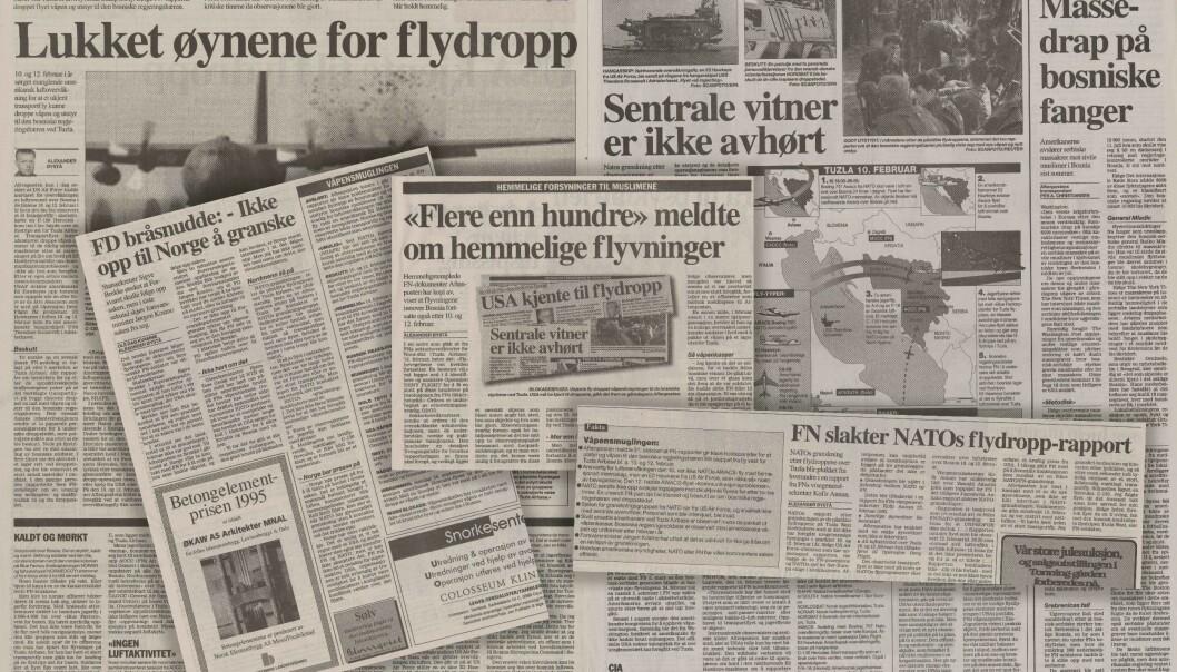 Daværende journalist i Aftenposten, Alexander Øystå, var en av de som dekket saken om de ulovlige flydroppende tettest.