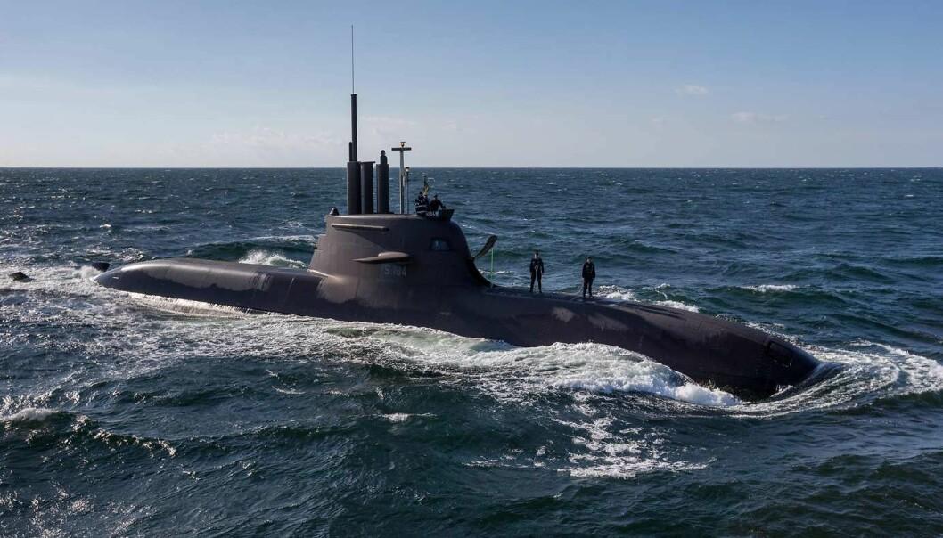 En ubåt av 212 A-klassen i tysk tjeneste. Norge skal kjøpe fire ubåter basert på samme modell.