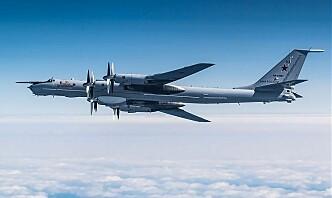 Norske F-16 og F-35 identifiserte russiske anti-ubåtfly