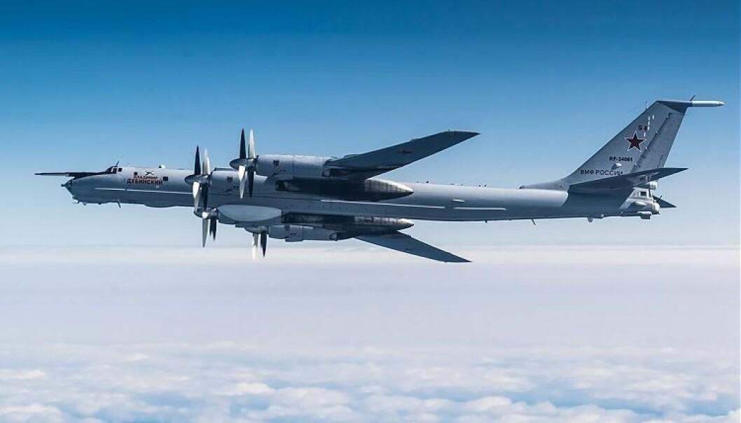 Et russisk Tupolev-142.