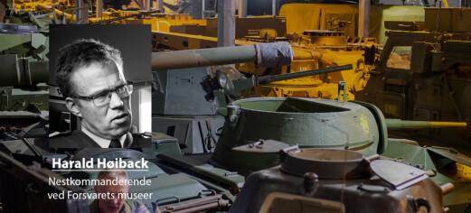 Historieløs langtidsplan for Forsvaret