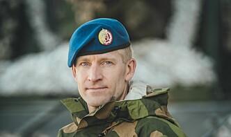 Einar Berntsen er ny sjef i Artilleribataljonen
