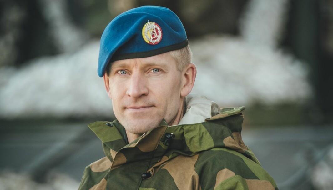 Oberstløytnant Einar Berntsen.