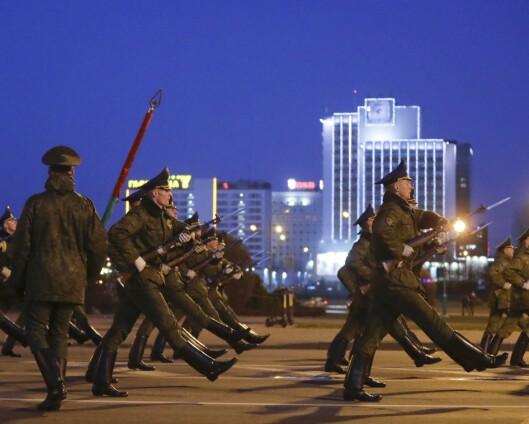 Hviterussland vil gjennomføre stor militærparade til tross for pandemien
