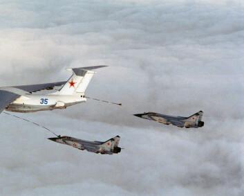 F-16 har identifisert russiske fly tre dager på rad