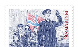 Posten markerer frigjøringsdagen med nytt frimerke