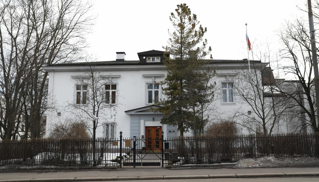 Den russiske ambassaden i Oslo.