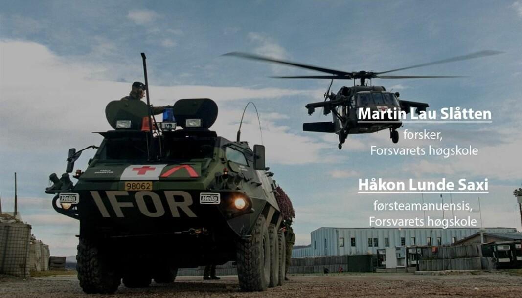 Mange nasjoner var involvert i krigene på Balkan, skriver Håkon Lunde Saxi og Martin Lau Slåtten ved Forsvarets høgskole.