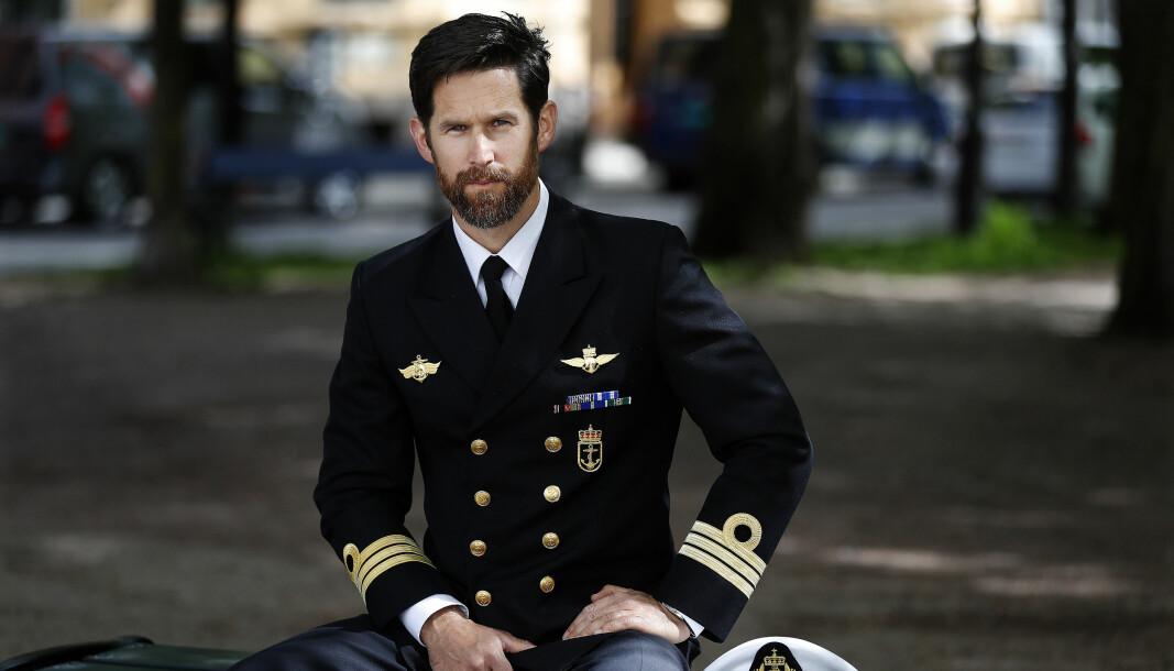 Orlogskaptein Jostein Mattingsdal fra Marinejegerkommandoen er tildelt Krigsmedaljen.