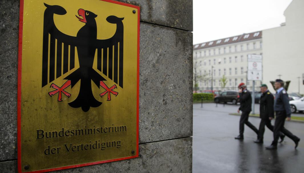 Det tyske forsvarsdepartement i Berlin.