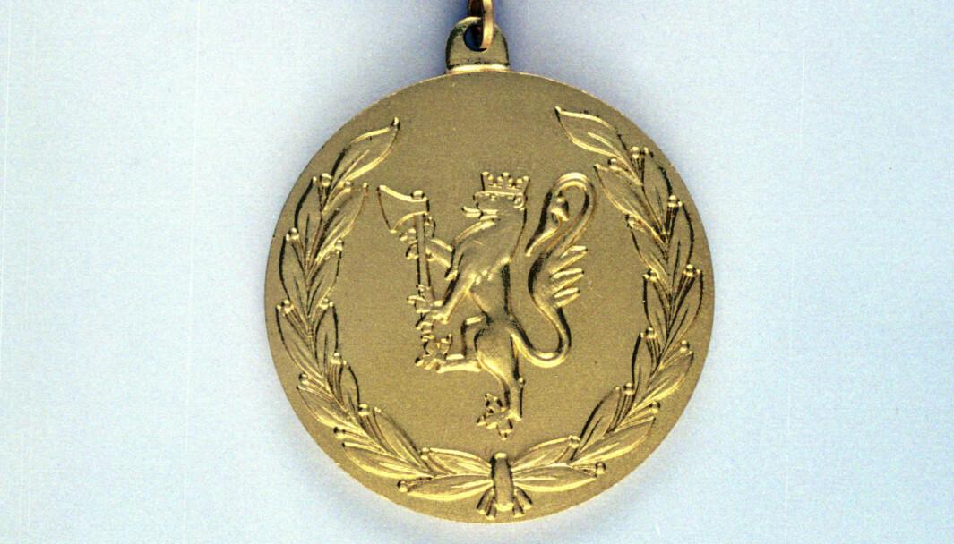 Forsvarets medalje for edel dåd.