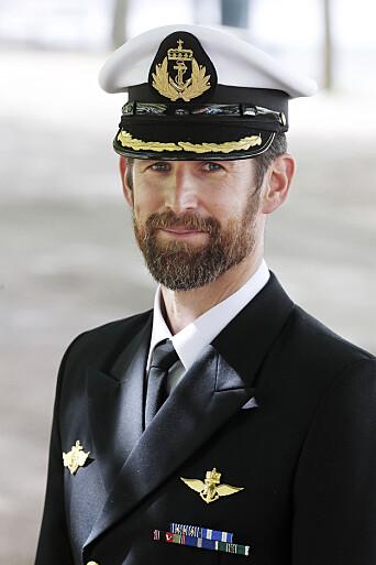 Orlogskaptein Jostein Mattingsdal.