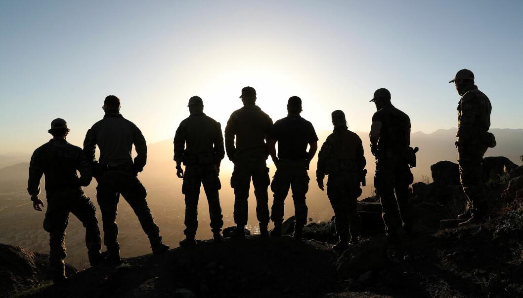 Å kreve bedring er ikke ett politisk budskap. Det er medmenneskelighet, skriver Jan William Steen. Her ser vi operatører fra Marinejegerkommandoen i Kabul, Afghanistan.