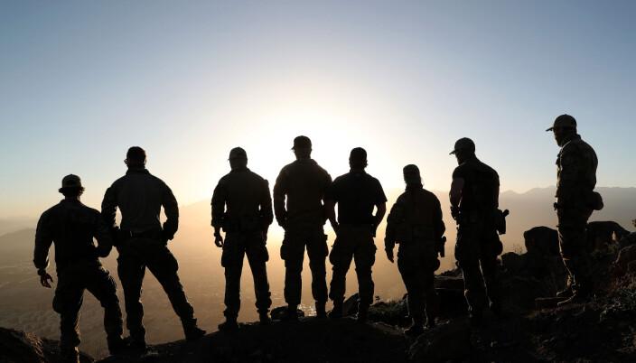 Operatører fra Marinejegerkommandoen i Kabul, Afghanistan.