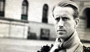 Kristian Bull var slottsvakt i 1945.