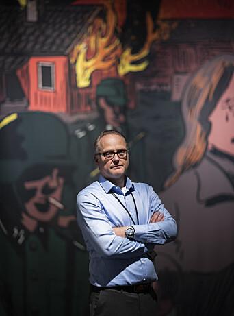 Erling Kjærnes - direktør ved Forsvarets museer.