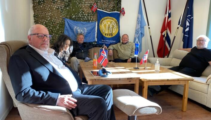 Knut Arne Westby (f.v.), Stein-Yngve Graaberget, Tor Sørensen og Per Otto Knudsen