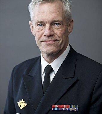 Sjef for Sjøforsvaret, kontreadmiral Nils Andreas Stensønes