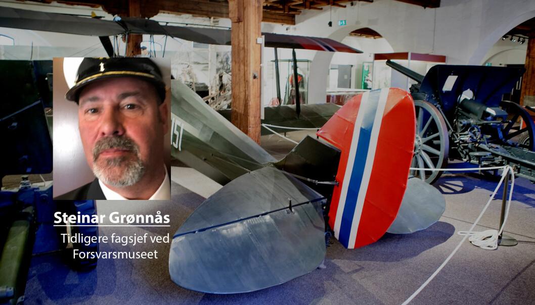 Jeg føler med direktøren og ledelsen ved Forsvarets museer, skriver Steinar Grønnås. Her ser vi et bilde fra en utstilling fra Forsvarsmuseet.