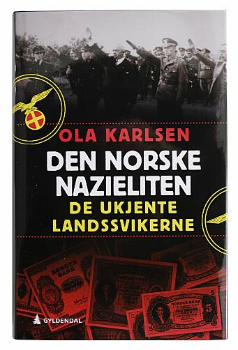 Ola Karlsen har skrevet Den norske nazieliten