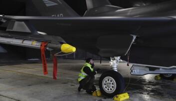 F-35: Kan stå mer på bakken