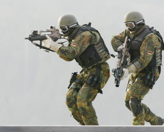 Fant våpen og eksplosiver hjemme hos tysk elitesoldat