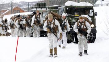 Flere allierte i trening enn norske soldater i Indre Troms