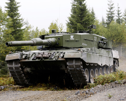 Står mellom sørkoreanske eller tyske stridsvogner